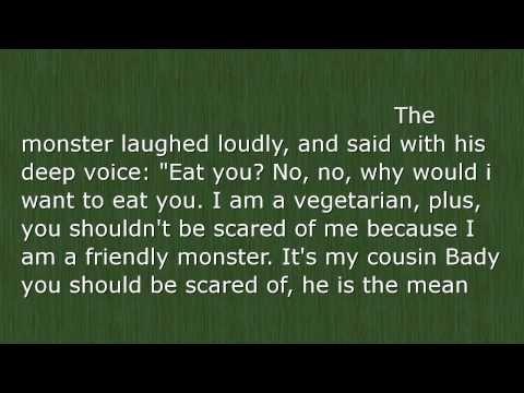 The Friendly Monster Children Bedtime Stories Short Stories