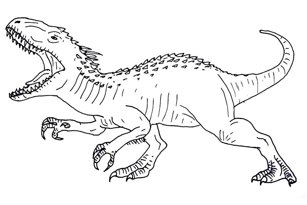 jurassic world coloring pages ( images)  dinosaur