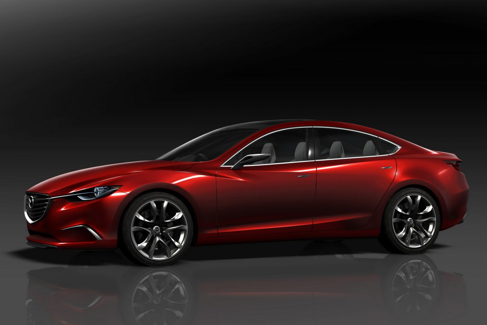 Mazda takeri concept car i want this when it s put into production