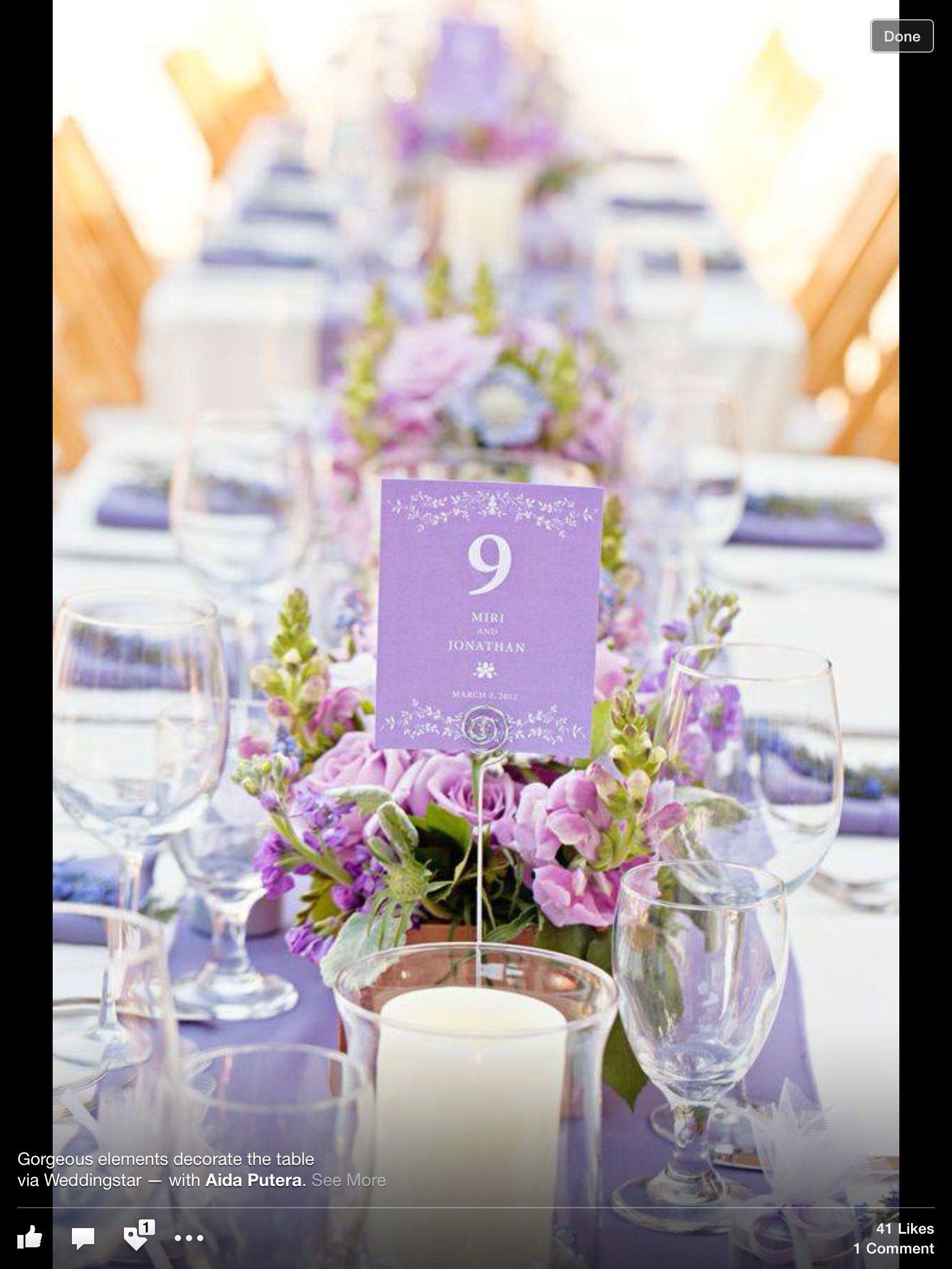 Wedding decoration ideas purple  Lavender  Wedding Ideas u Decor  Pinterest  Lavender Reception