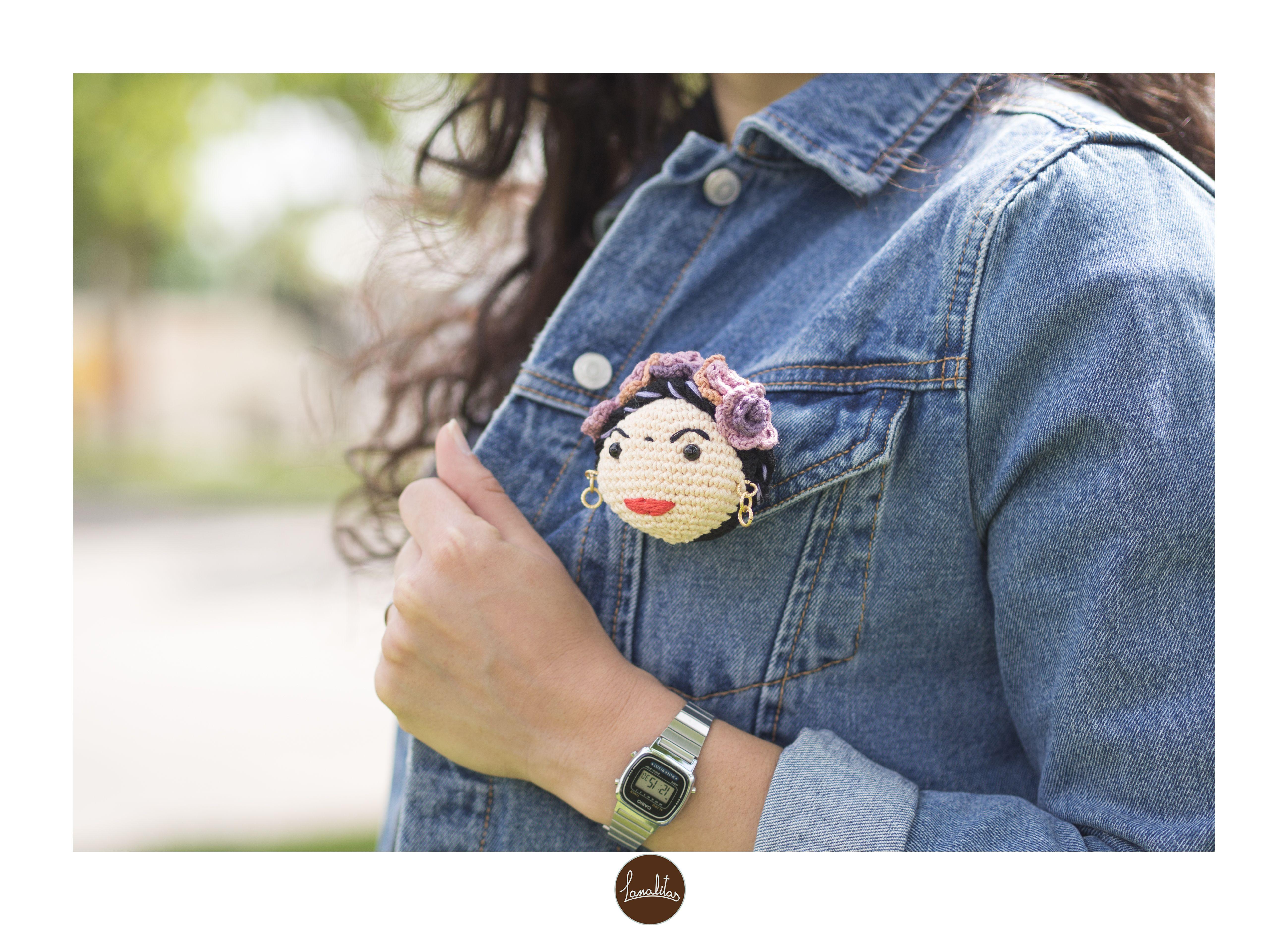 Amigurumis De Frida Kahlo : Broche amigurumi frida kahlo hechos por mi frida