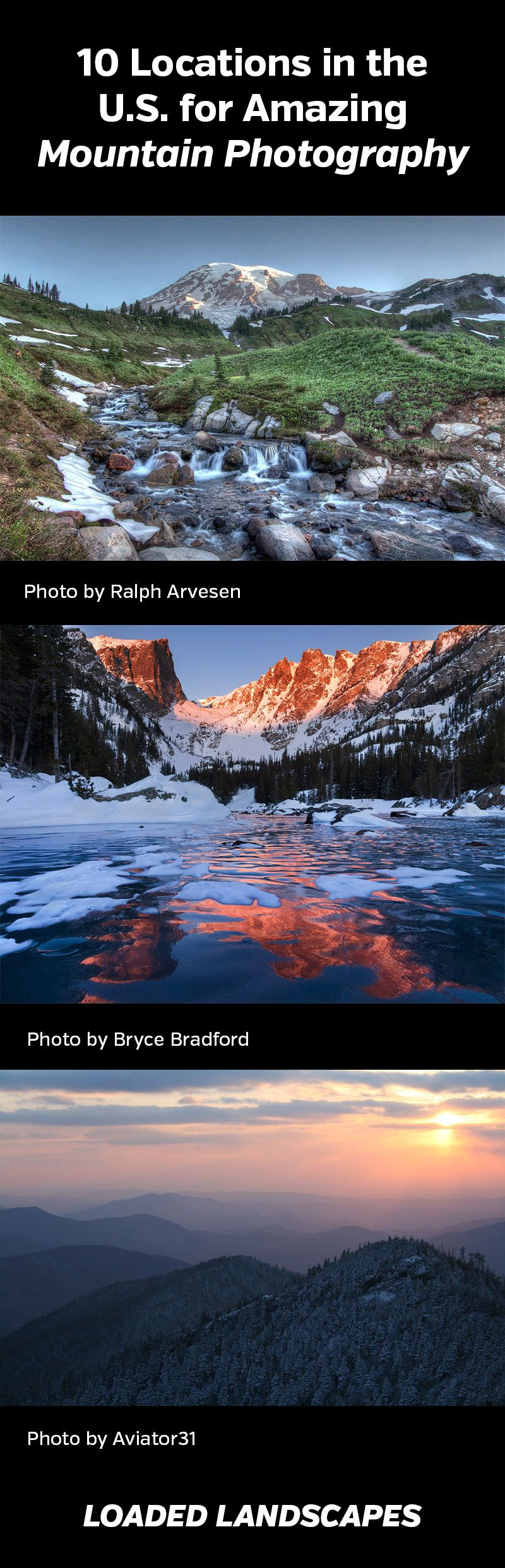 Locations In U. Amazing Mountain Landscape Tips