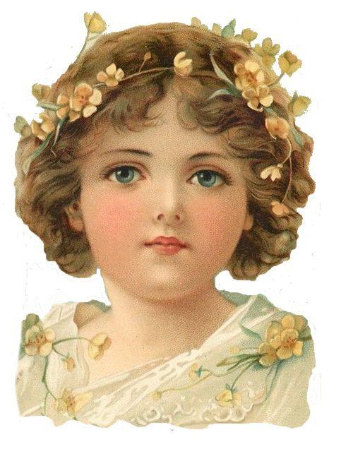 Glanzbilder - Victorian Die Cut - Victorian Scrap - Tube Victorienne - Glansbilleder - Plaatjes : Kind