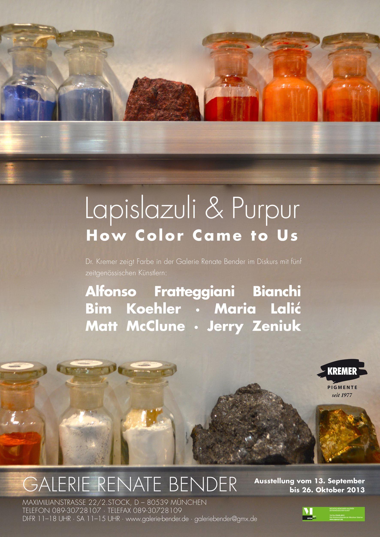 Dr Kremer München lapis lazuli purpur how color came to us dr kremer presents a