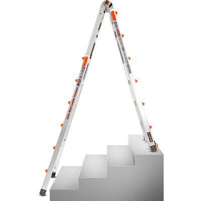 Little Giant Ladder Systems Lt 26 Multipurpose 7 Ft Aluminum Multi