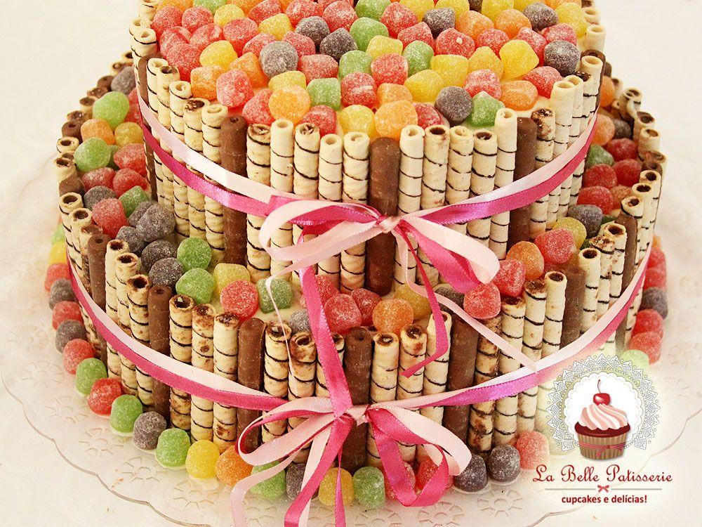 Tort Z Cukierkw I Ciasteczek Pomysy Na Przyjcia