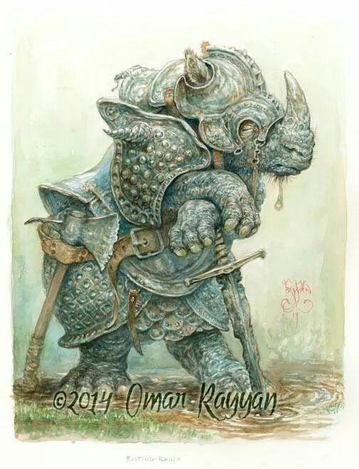 Rusting Rhino