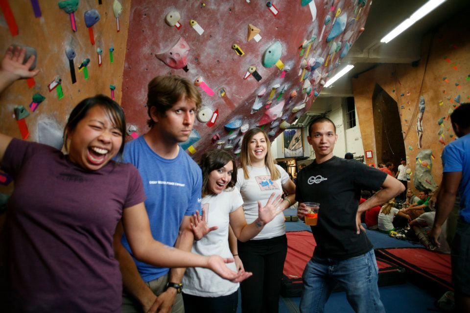 Want to meet new climbing partners? GWPC in Oakland has your back. Check out their monthly Partner Parties!