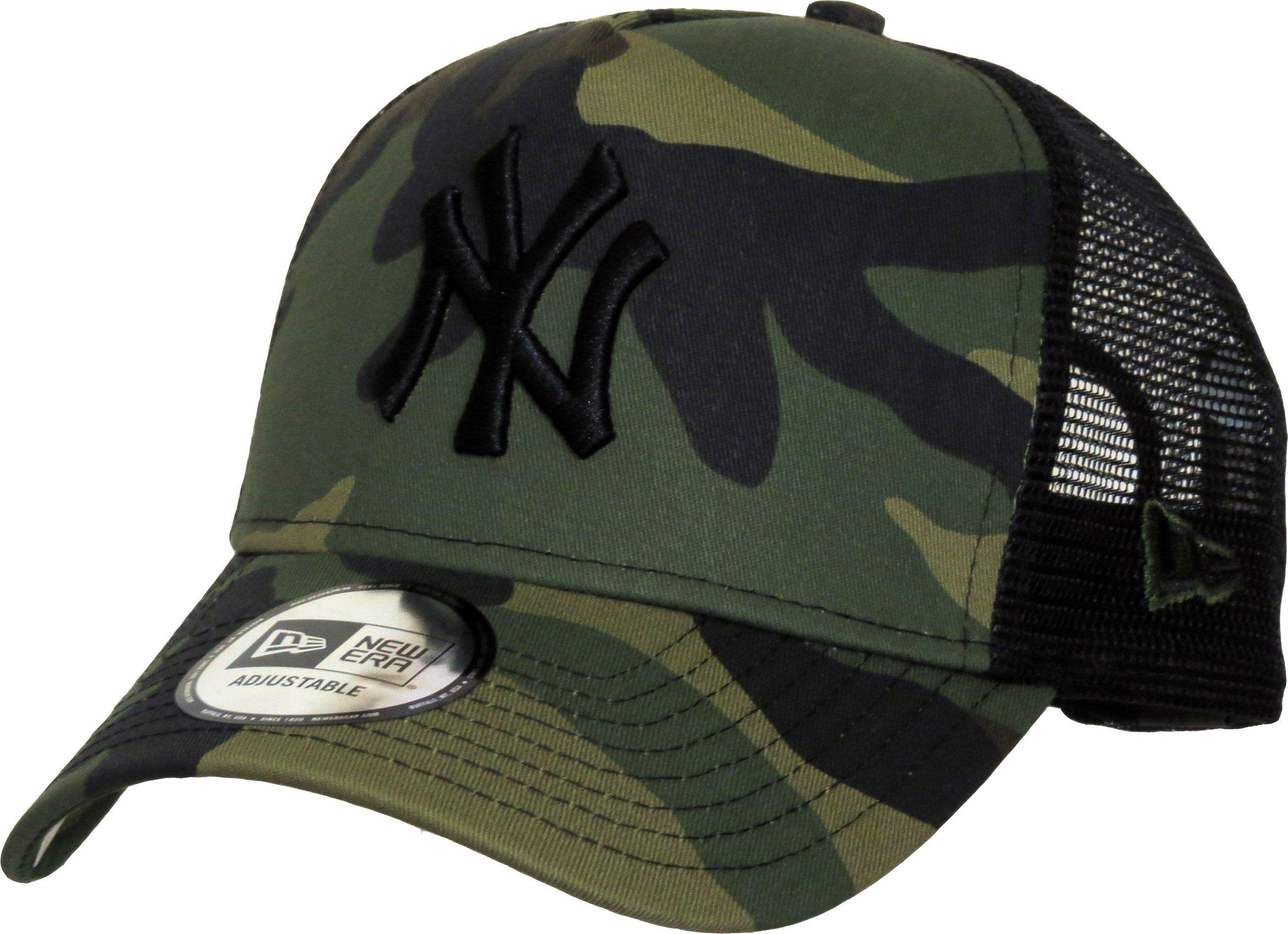 New York Yankees New Era Camo Team Trucker Cap Lovemycap New York Yankees Trucker Cap Yankees News