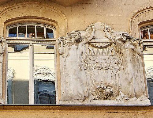 Budapest, Art Nouveau detail. Turbine | by elinor04 Thanks for 16,000,000+ views!