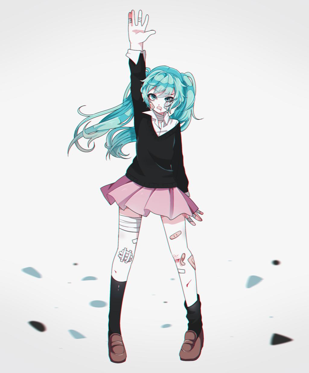 Resultado De Imagem Para Rolling Girl Miku Rolling Girl Vocaloid