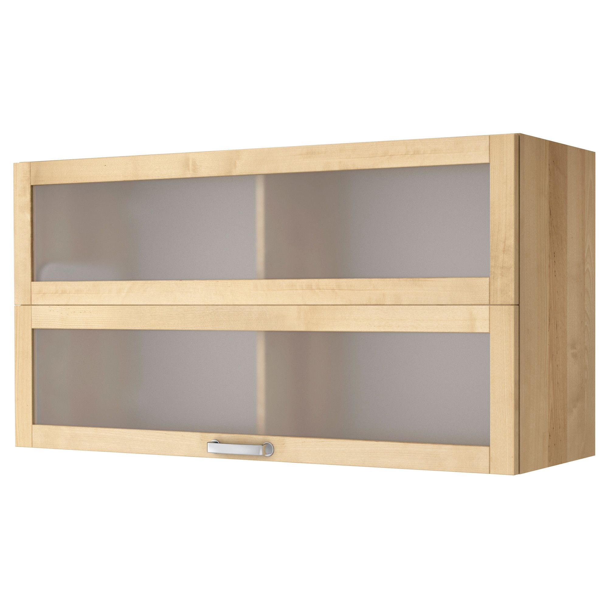 Best Värde Glass Door Wall Cabinet Birch Ikea 508 640 x 480