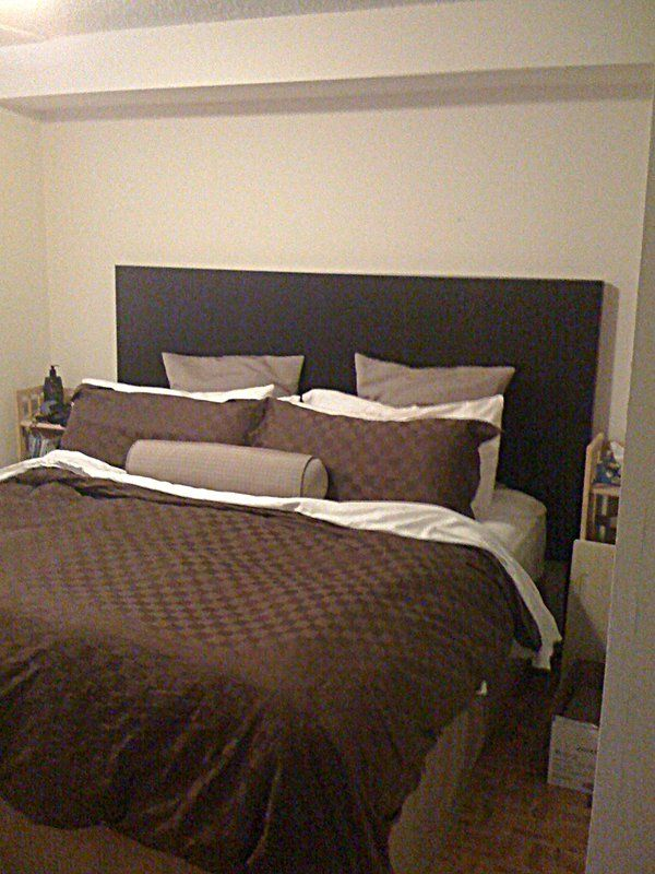 A headboard fit for a Kingsized bed Ikea hackers King size and
