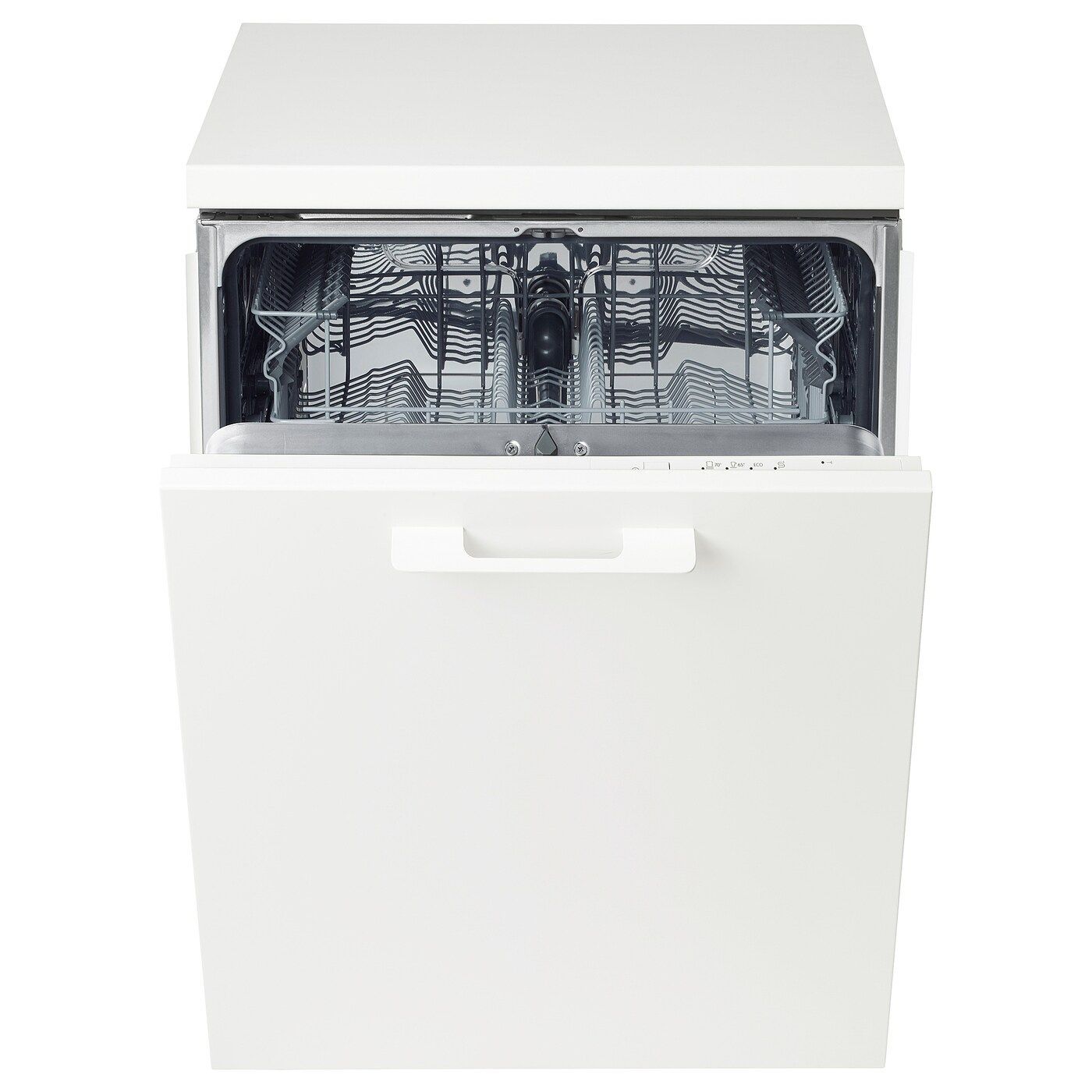 Lagan Lave Vaisselle Encastrable Blanc In 2020 Integrated Dishwasher Ikea Ikea Home