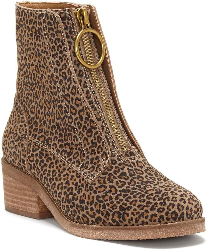 3d6245d157768 Women's Lucky Brand Tibly Zip Bootie, Size 6.5 M - Brown in 2019 ...