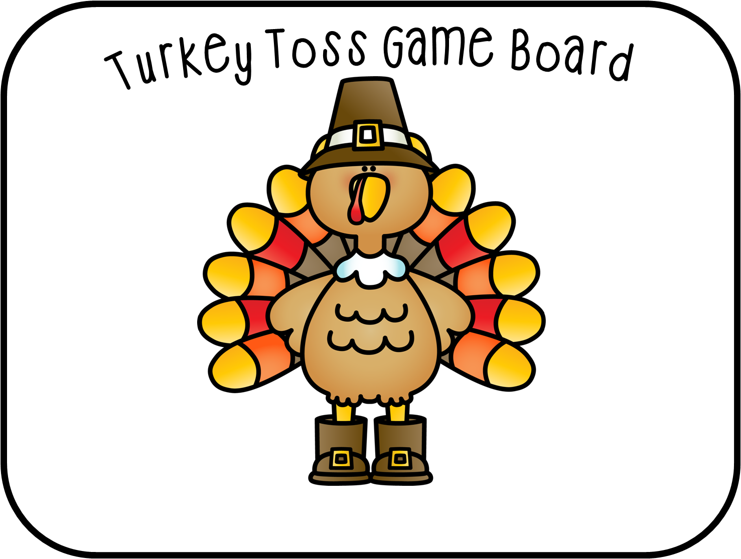 First Grade Wow Talkin Turkey Number Bonds And Craft