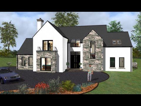 Irish House Plans House Type Mod037 Exterior House Designs Ireland Irish House Plans New House Plans
