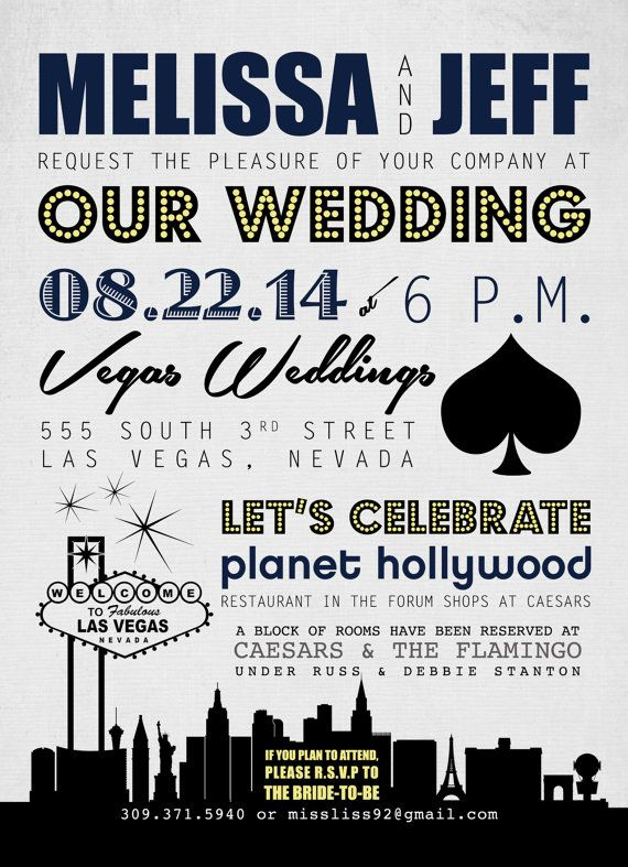 Do you think this would be a better style of invitation considering the venue?