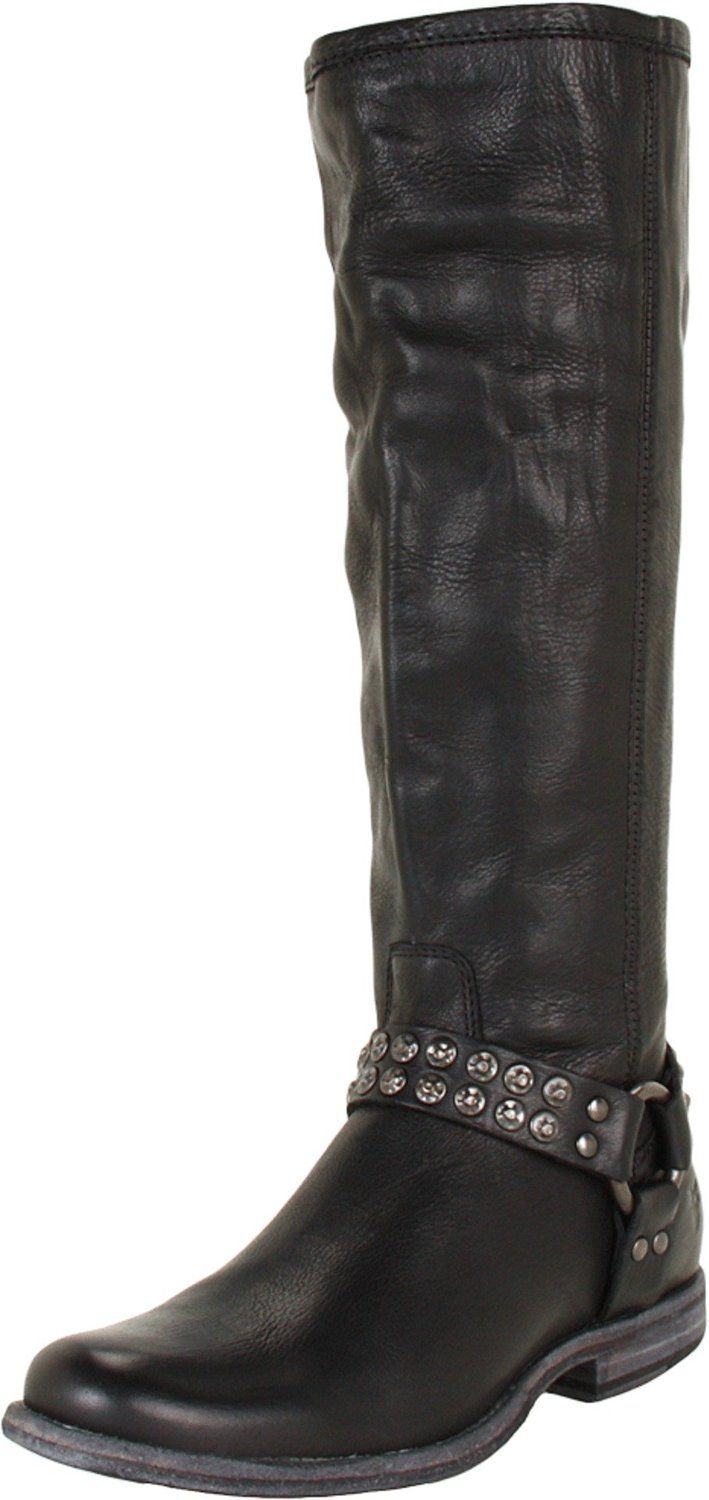 FRYE Women's Phillip Studded Harness Tall Boot * Read more at the image ...