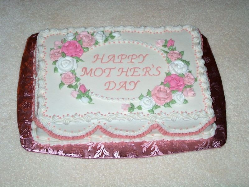 Cake Decorating Ideas For Mother S Day : Mother s Day Cake Decorating Ideas canot really say my ...