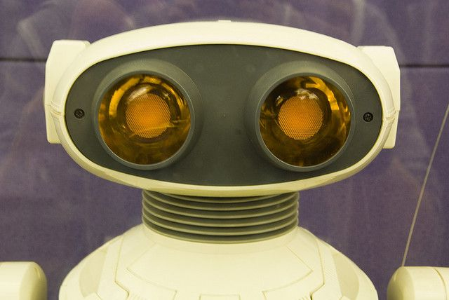 Eighties Robot by Jon Wiley, via Flickr