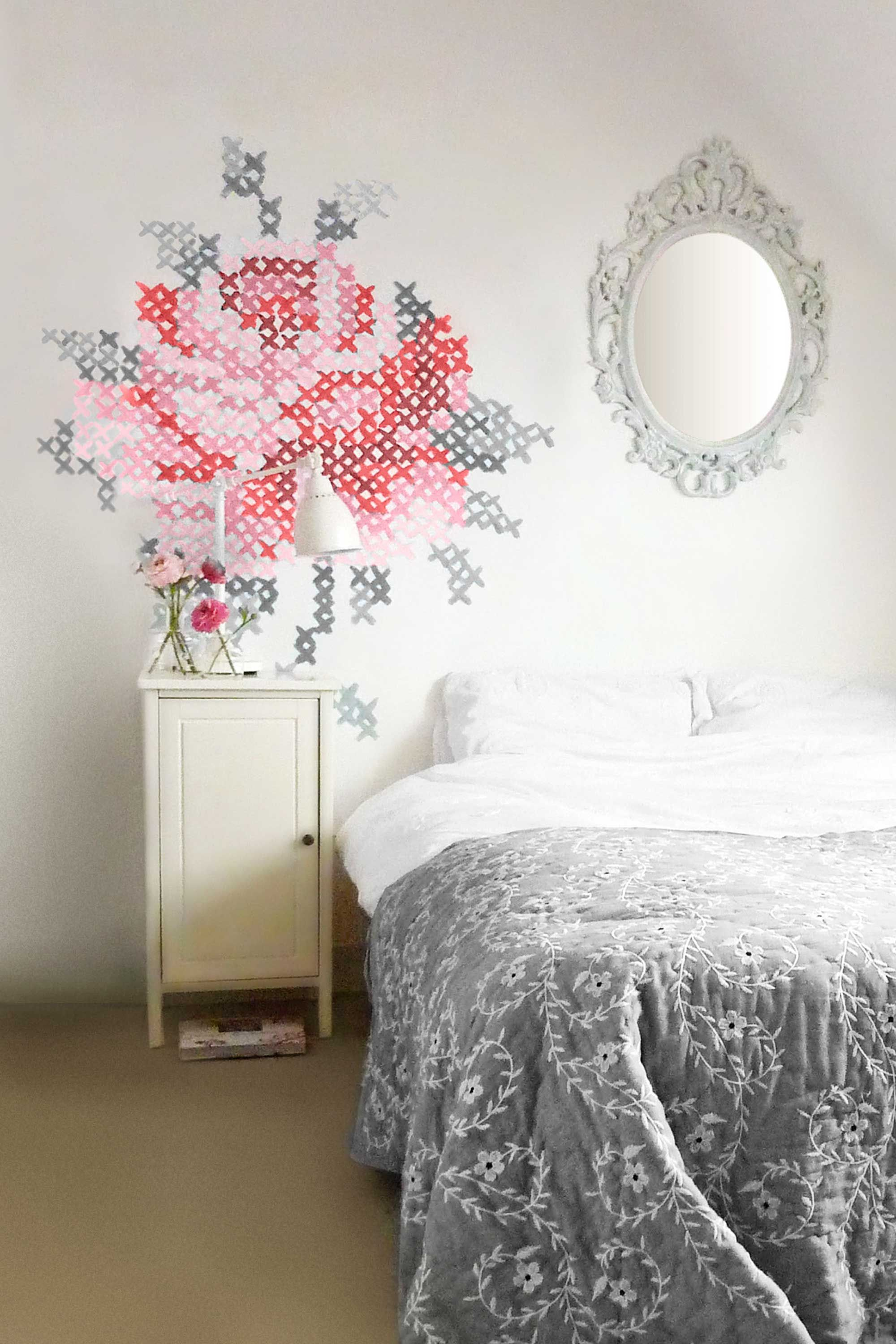 crafty ideas for home decor you can make yourself cross stitch