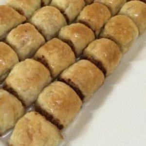 بقلاوة البف باستري أضيفت بواسطة أم رائد الحلويات Recipes Food Hot Dog Buns