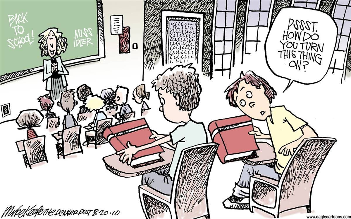 SUNDAY AFTERNOON FUNNIES - BACK TO SCHOOL EDITION   Back to school funny, School  humor, School cartoon