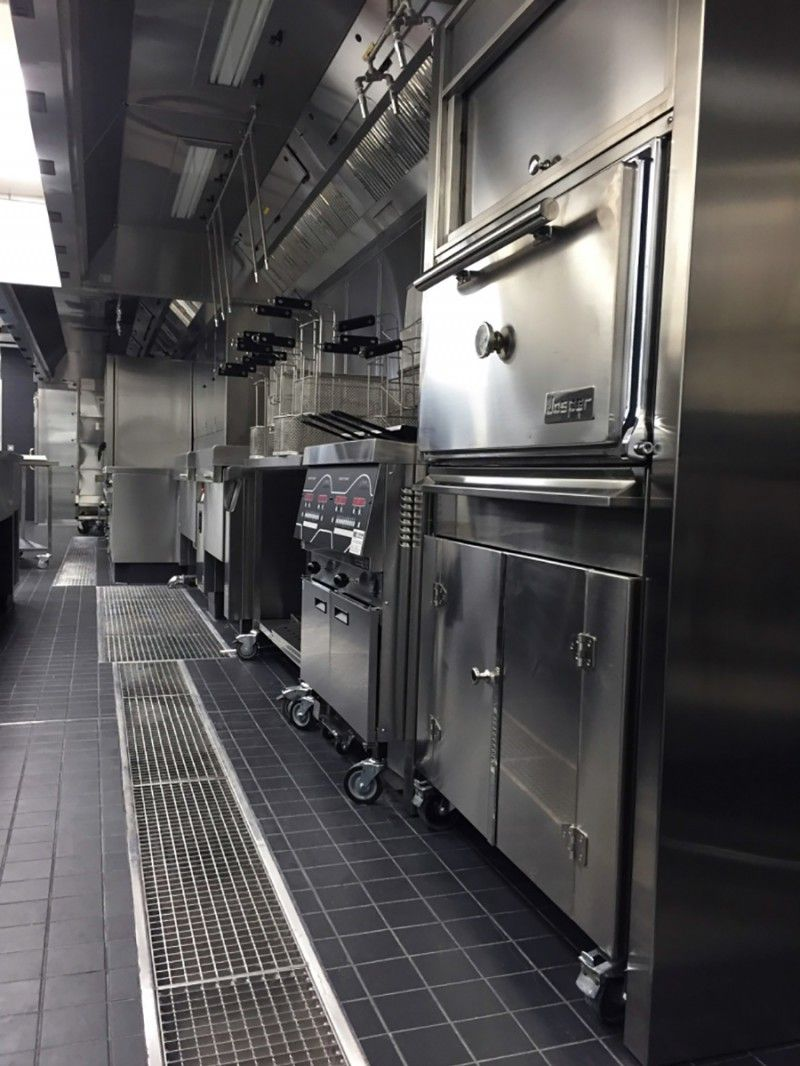 500mm Channels For Commercial Kitchen Drainage Commercial Kitchen Kitchen Applicances Kitchen