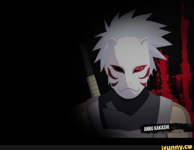 Hatake Kakashi Anbu Sharingan Naruto Kakashi Anbu