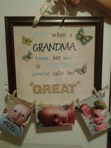 Great Grandma Gift