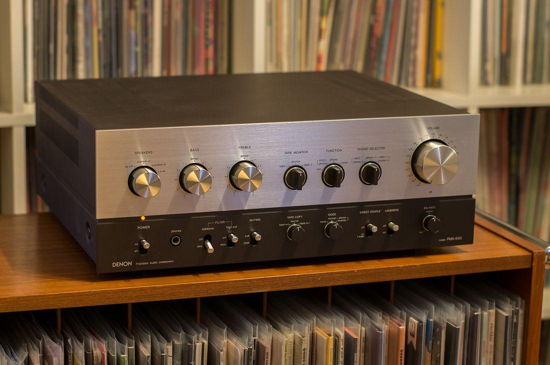 Denon Pma 850 Integrated Amplifier Vintage Audio
