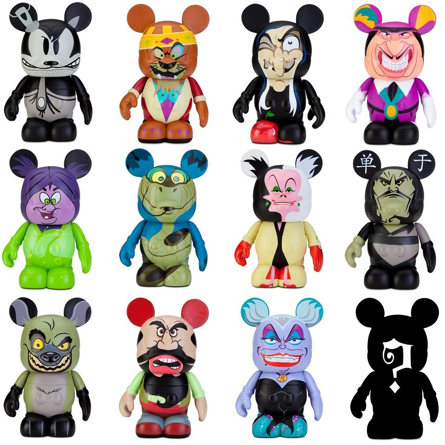 Vinylmation Villains Full Set I Want Those For My