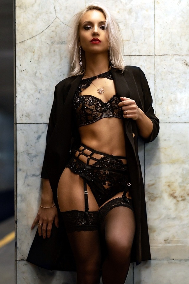 Women in sensual ware