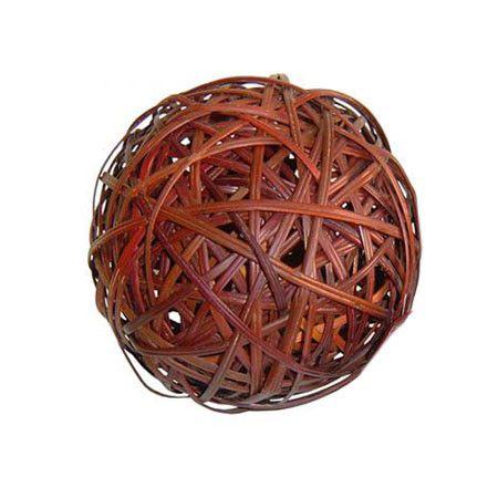 Fern Decorative Ball Set Of 2 Centerpiece Bowl Decorative Objects Kitchen Accessories Decor