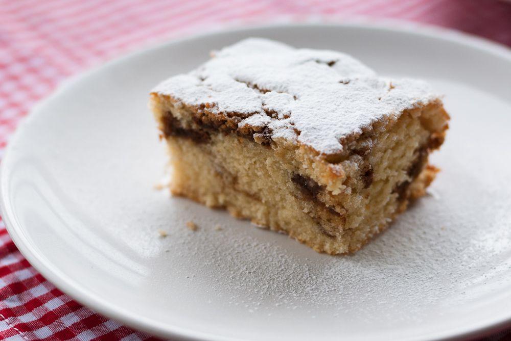coffee & amaretto cake