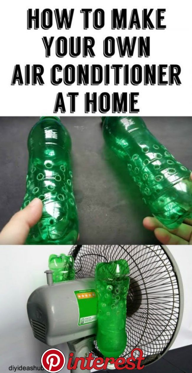 How To Make Your Own Air Conditioner At Home If you do not