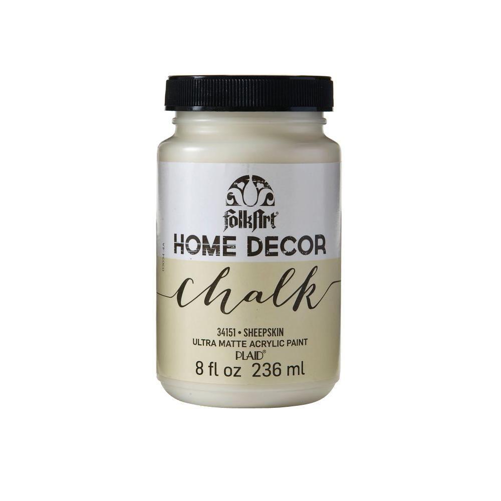 Folkart Home Decor 8 Oz Sheepskin Ultra Matte Chalk Finish