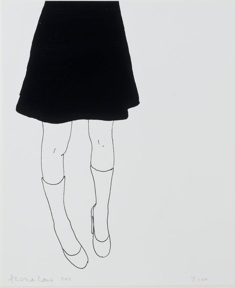 Black Skirt by Natasha Law