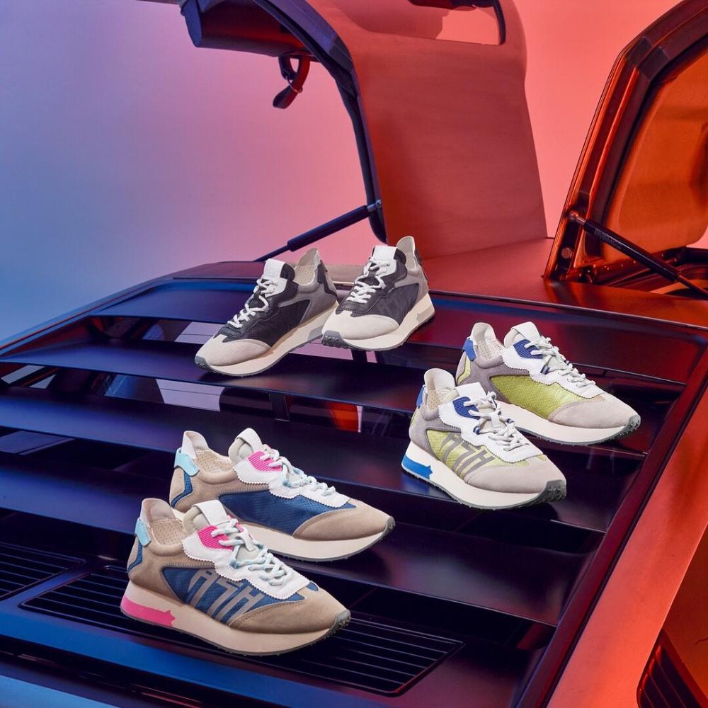 Sneakers, Designer shoes, Retro fashion