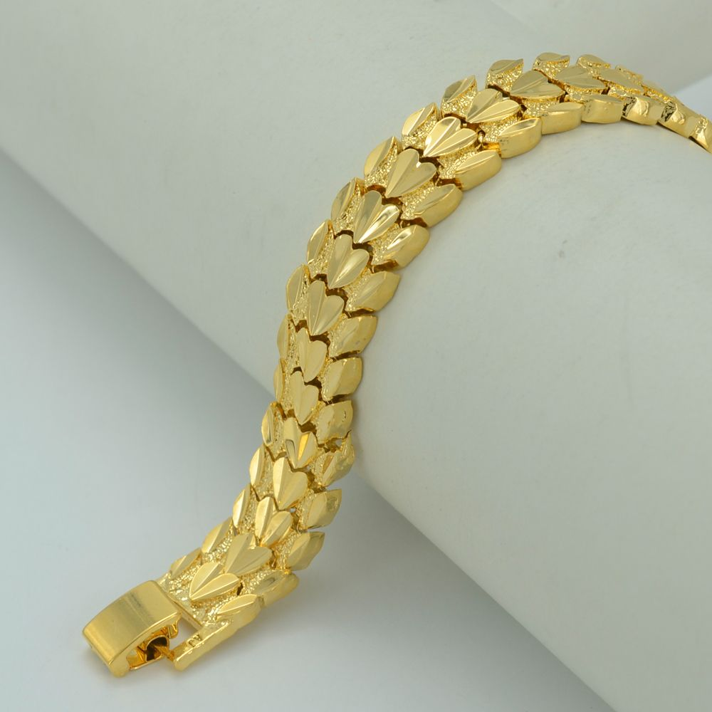 gold thin cord ebay bracelet plated mesh chain women itm tube woman