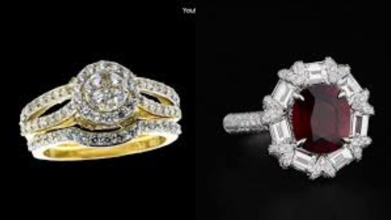 اجمل صور محابس ذهب جديد خواتم خطوبة رائعة 2019 Https Youtu Be 7h8re7tj2lc Diamond Ring Engagement Rings Rings
