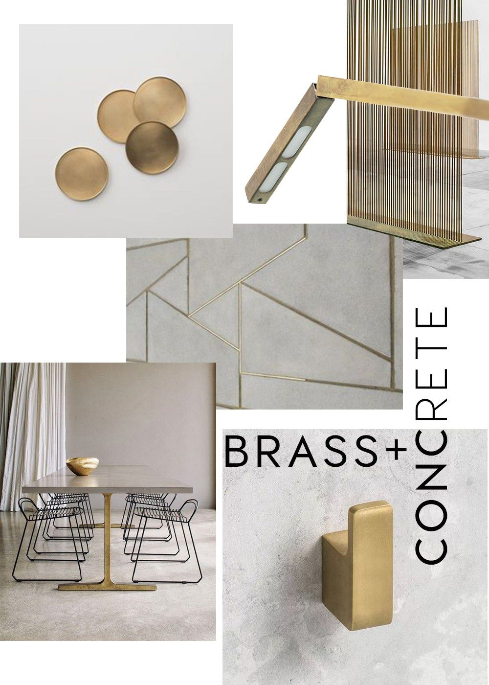 Brass Interior Trend 2017