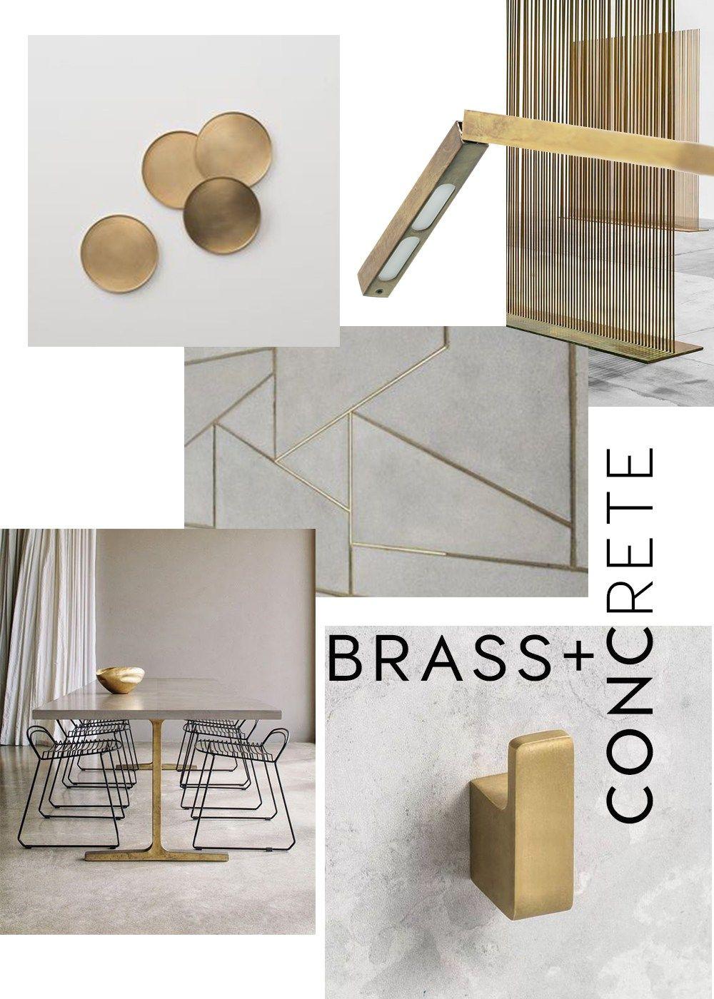 Brass Interior Trend 2017