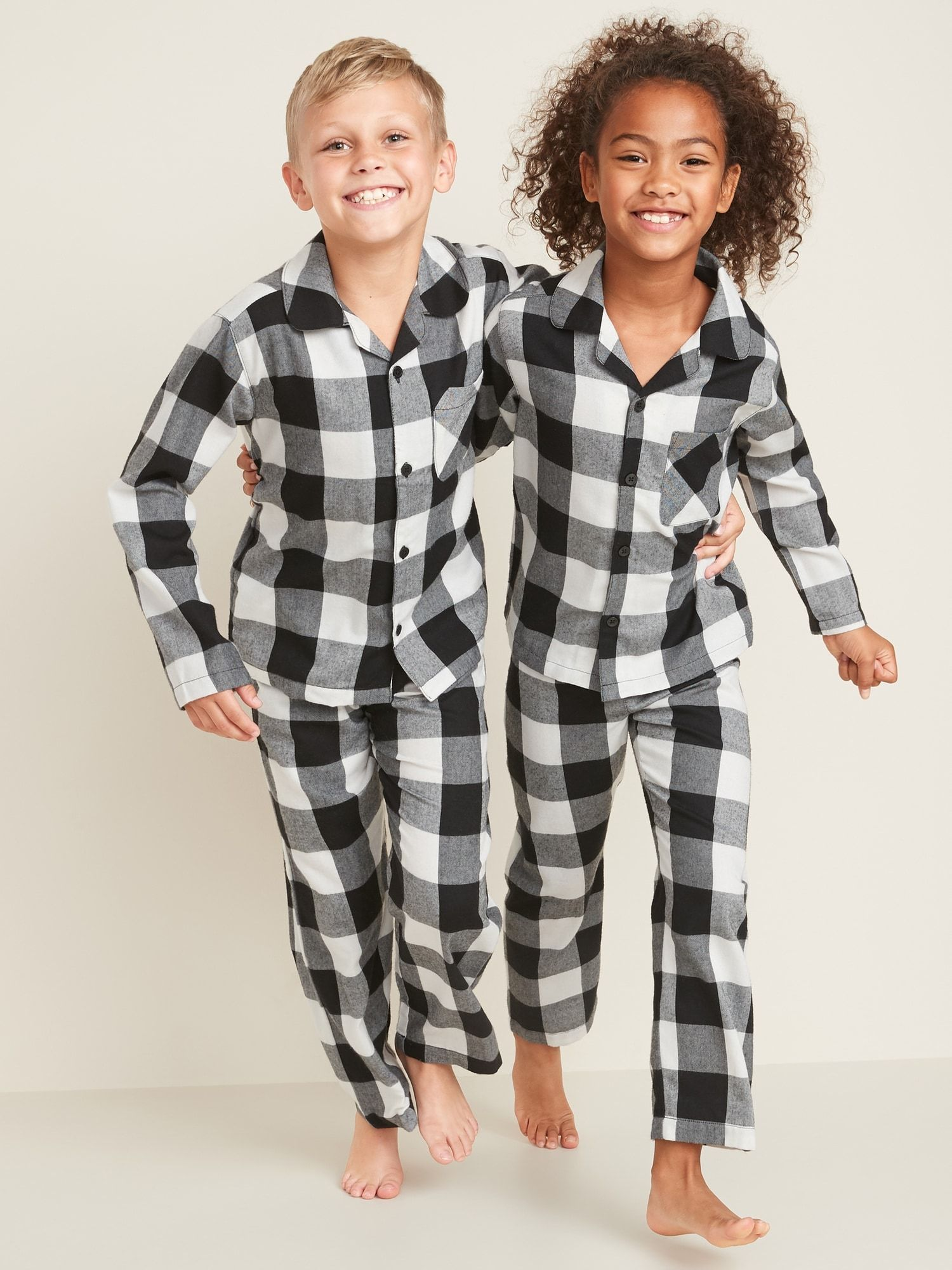 Printed Flannel Pajama Set for Kids Old Navy Flannel