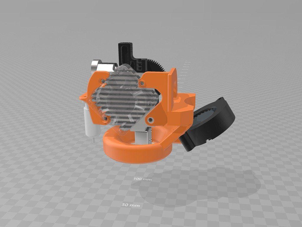 Ft 6 E3d Titan Aero Volcano Part Cooling Fan Ring 5015 By Geraldc3