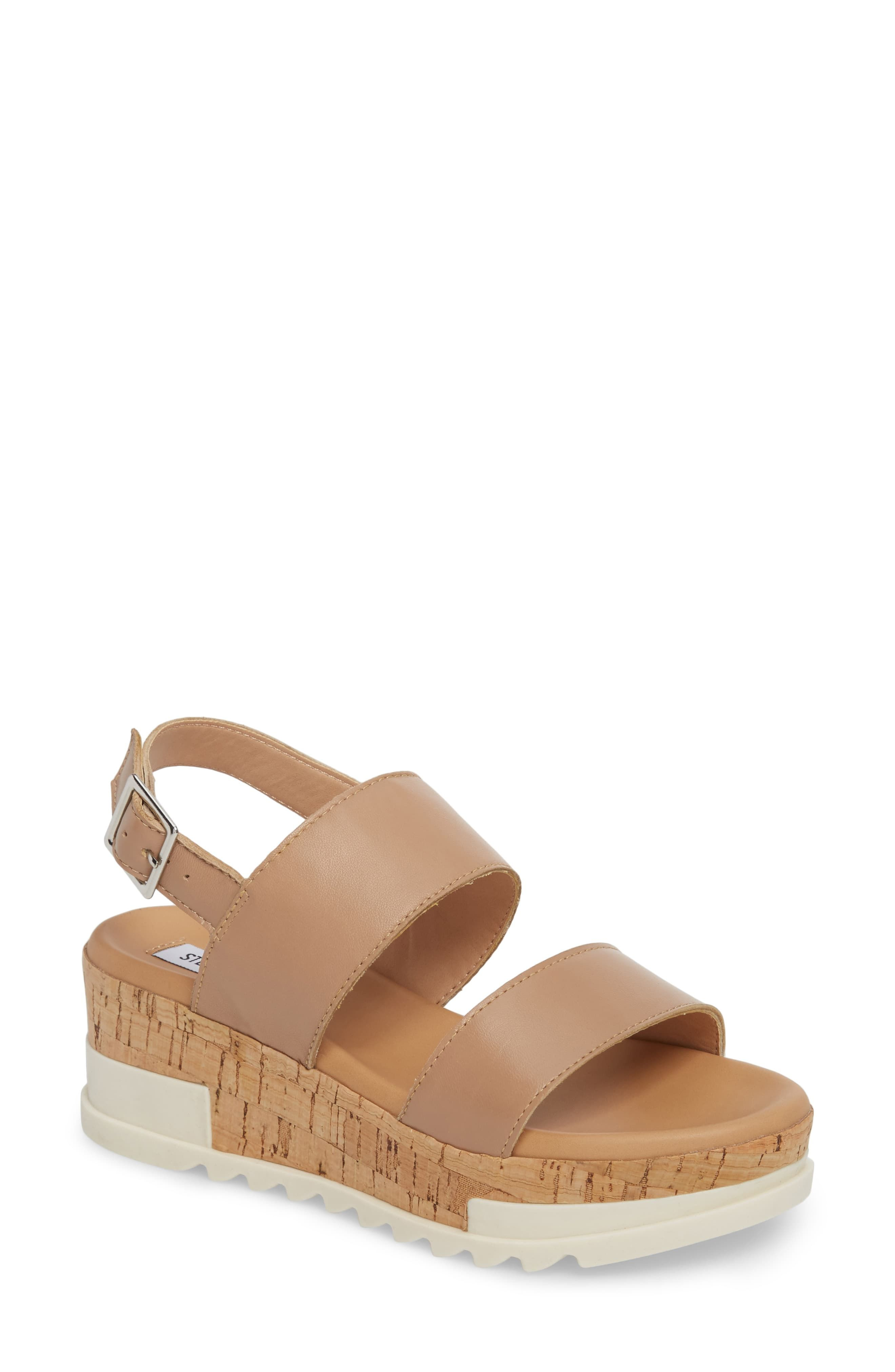 2680fc6d8b1 Steve Madden Brenda Wedge Sandal in 2019   Products   Wedge sandals ...