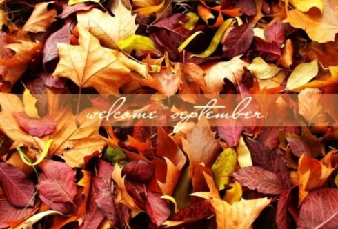 Welcome September Autumn Leaves Fall Month September Hello September  September Quotes