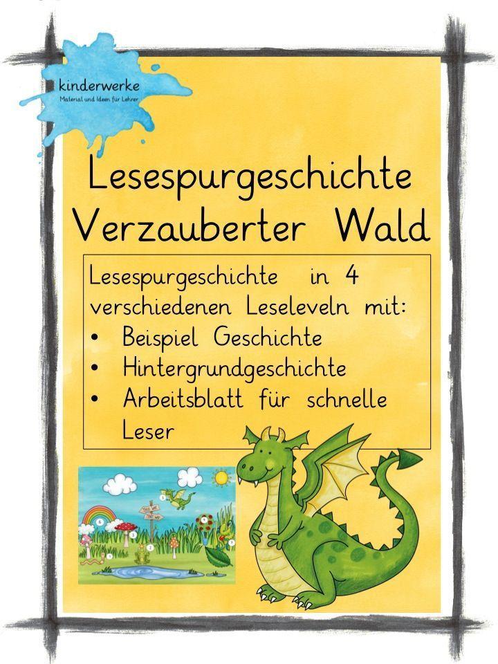 Lesespurgeschichte Verzauberter Wald – DaZ / DaF, Deutsch ...