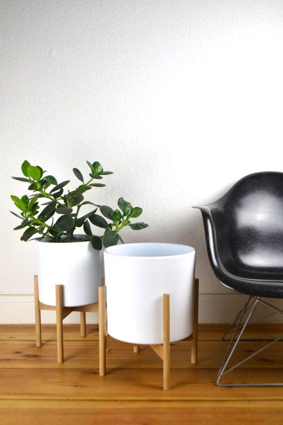 Fioriere Da Interno Moderne.9 12 8 Xxl Mid Century Planter Architettura Ceramica